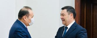 Meeting of the Secretary General with the President of the Republic of Azerbaijan H.E. Ilham Aliyev