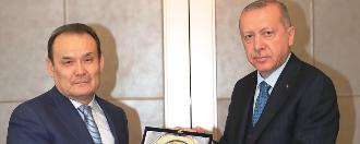 Meeting of Secretary General Baghdad Amreyev with President H.E. Recep Tayyip Erdoğan