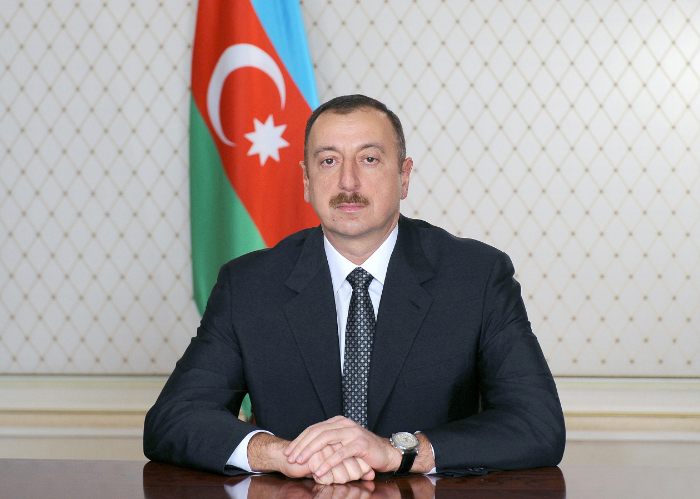 The letter of H.E. Ilham Aliyev, President of the Republic of Azerbaijan, addressed to Baghdad Amreyev, Secretary General of the Turkic Council