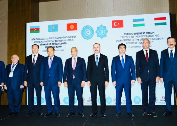 """Turkic Business Forum """"Devoted to the restoration and development of the liberated Karabakh region of Azerbaijan"""" convened in Baku"""