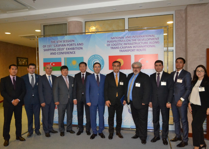 """The """"1st Caspian Ports and Shipping 2019 Exhibition and"""