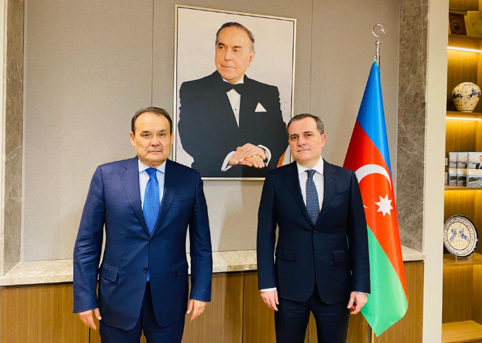 Secretary General met with the Minister of Foreign Affairs of the Republic of Azerbaijan