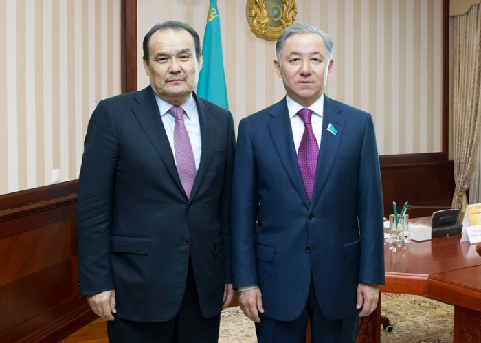 Secretary General was received by Chairman of the Mazhilis of the Parliament of Kazakhstan Nurlan Nigmatulin.