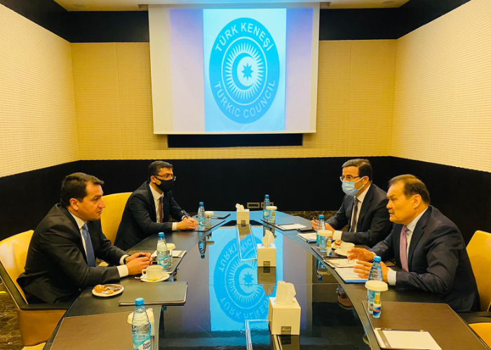 Secretary General met with the Ministers and High Officials in charge of information and media of the Turkic Council