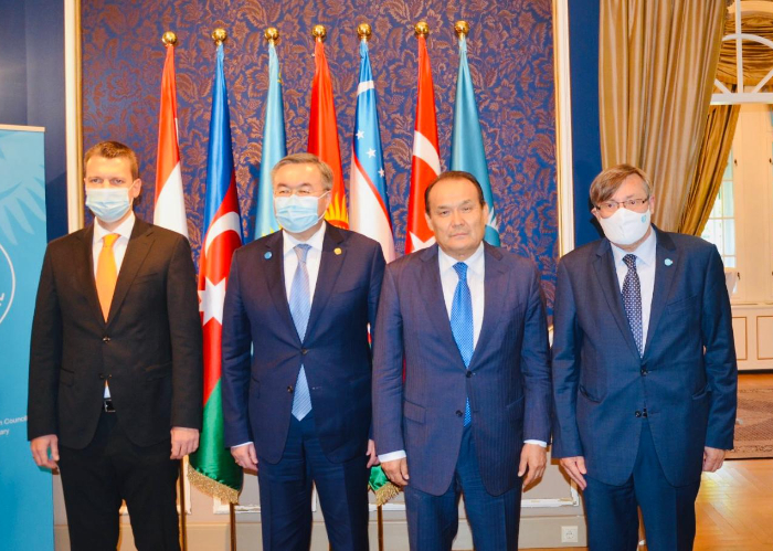 Minister of Foreign Affairs of Kazakhstan visitedthe European Office of the Turkic Council in Budapest