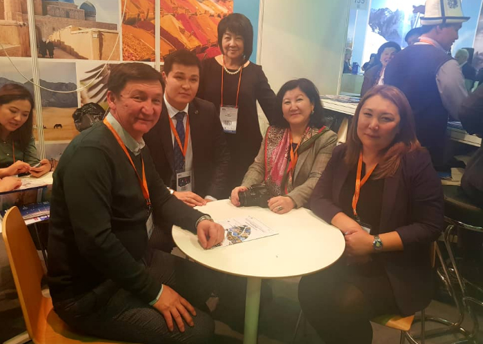 Ministry of Culture, Information and Tourism of Kyrgyzstan promoted the Modern Silk Road Joint Tour Package during Moscow International Travel & Tourism Exhibition.