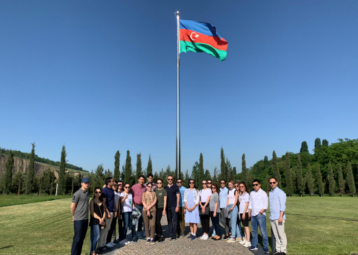 Participants of the Turkic Council Junior Diplomats 6th Joint Training Program visited Guba Genocide Memorial Complex and Khinalyg village