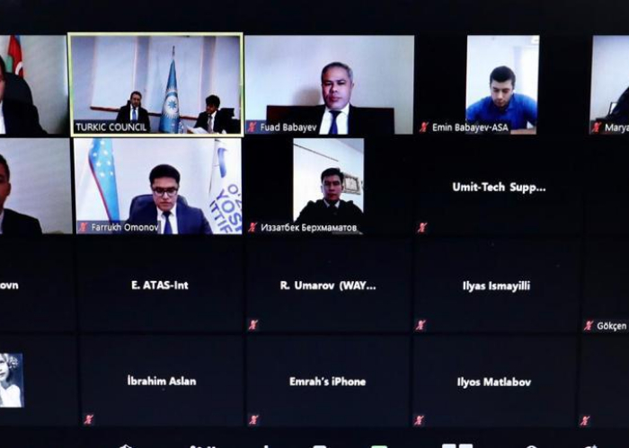 The Executive Board of the Turkic Council Youth Platform convened on a virtual format