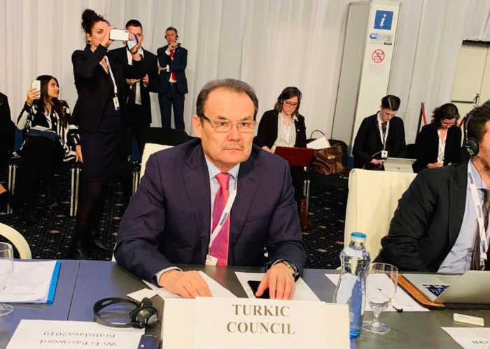 Secretary General of the Turkic Council attended the 26th OSCE Ministerial Council.