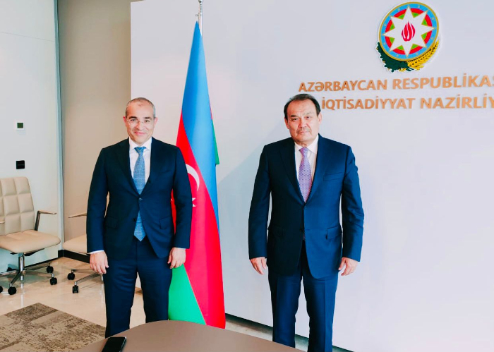Secretary General of the Turkic Council met with Minister of Economy of the Republic of Azerbaijan