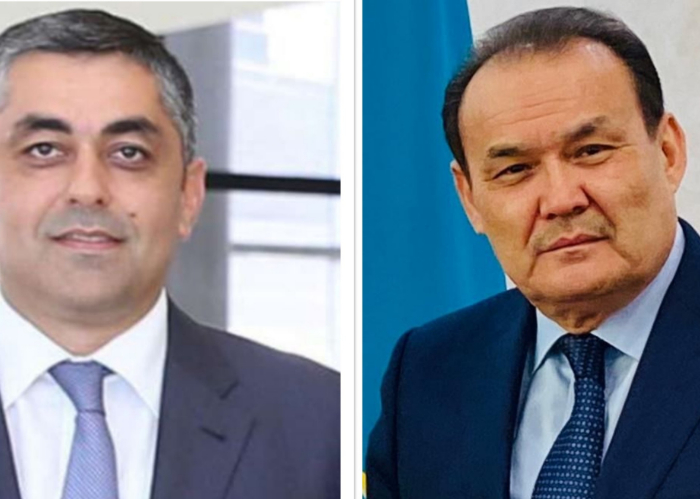 Secretary General of the Turkic Council met with the Minister of Transport, Communications and High Technologies of the Republic of Azerbaijan.