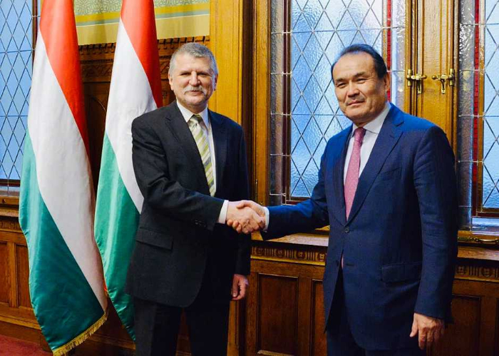 Turkic Council Secretary General Baghdad Amreyev paid an official visit to Hungary.