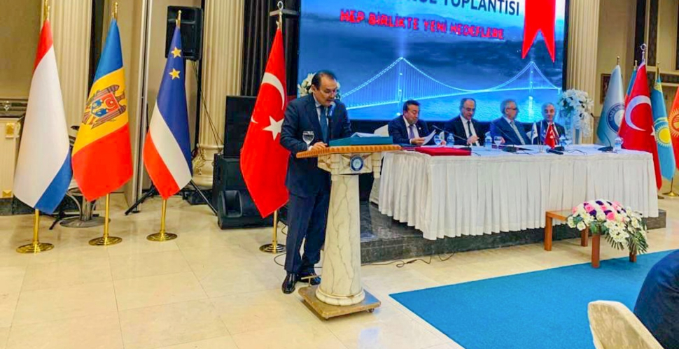Secretary General of the Turkic Council Baghdad Amreyev attended the 18th General Assembly of the Union of Architects and Engineers of Turkic World