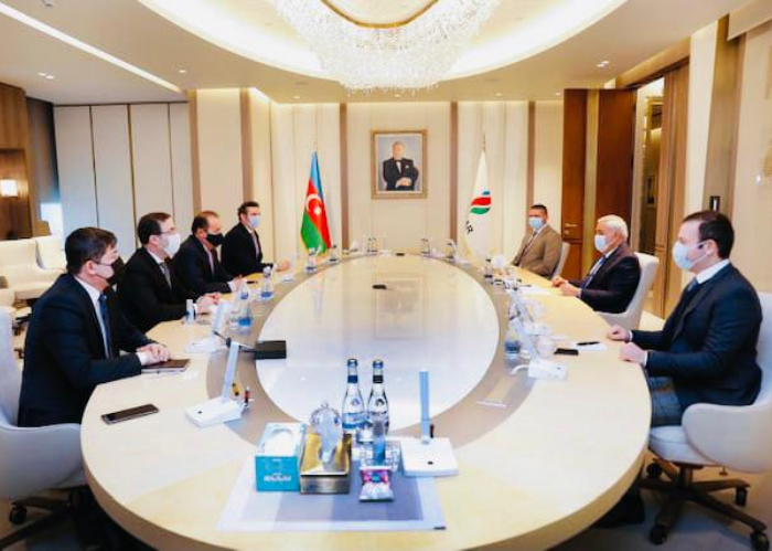 Secretary General held various official meetings in Azerbaijan