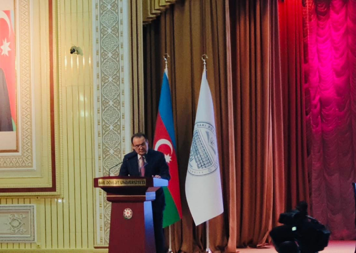 "Secretary General of the Turkic Council attended the 3rd Scientific Council Meeting of the Turkic Academy and opening ceremony of the ""Year of Abay"" in Baku"
