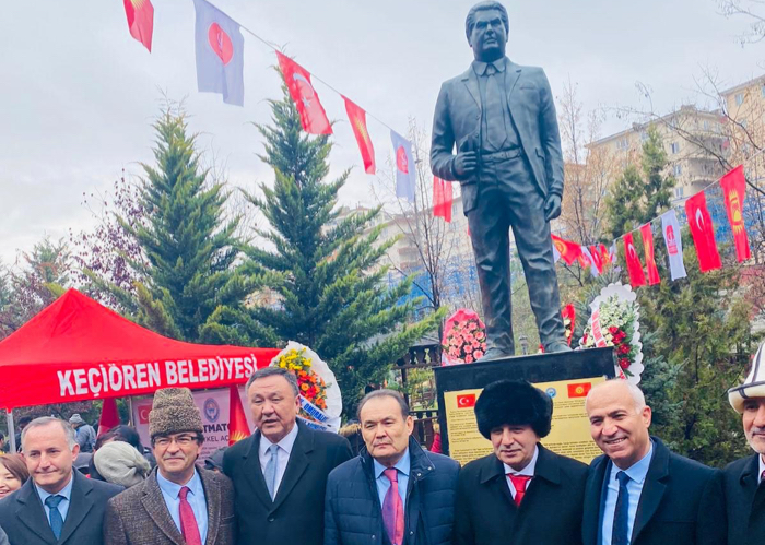 Secretary General of the Turkic Council attended the opening ceremony of the monument for Chingiz Aitmatov.