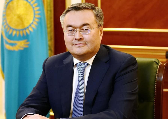 The Secretary General of the Turkic Council congratulated new Minister of Foreign Affairs of the Republic of Kazakhstan