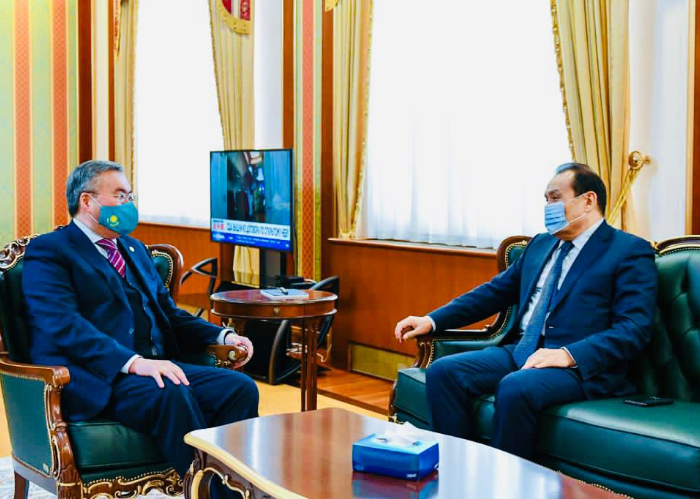 Turkic Council Secretary General met with Foreign Minister of Kazakhstan.
