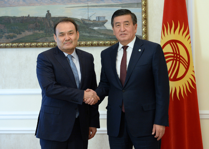 The Secretary General of the Turkic Council has sent a congratulatory letter to H.E. Sooronbay Jeenbekov, President of the Kyrgyz Republic on the occasion of his birthday