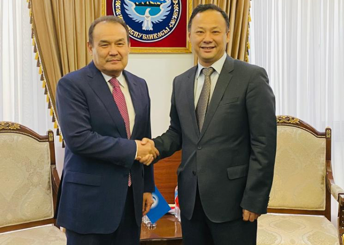 Secretary General of the Turkic Council met with Foreign Minister of the Kyrgyz Republic