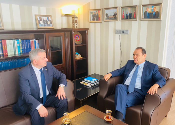 Secretary General of the Turkic Council received the Ambassador of Moldova to Ankara