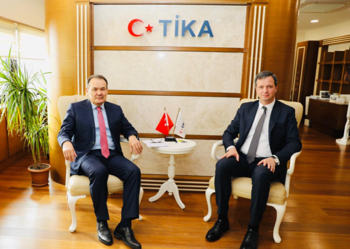 Secretary General of the Turkic Council visited the Headquarters of the Turkic Cooperation and Coordination Agency (TİKA).