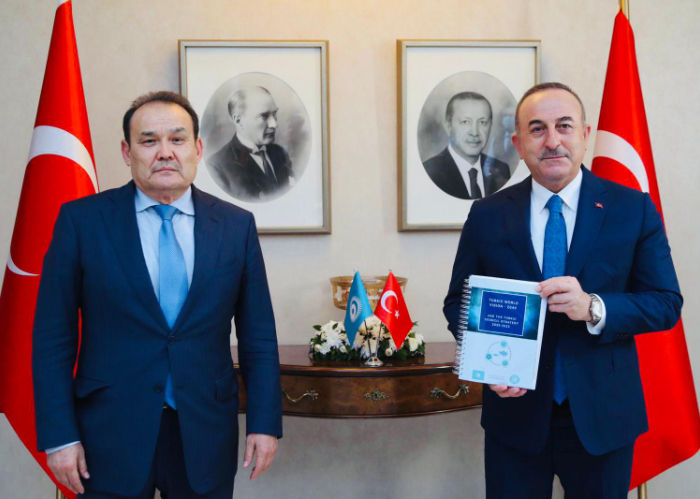 Turkic Council Secretary General met with Foreign Minister of Turkey