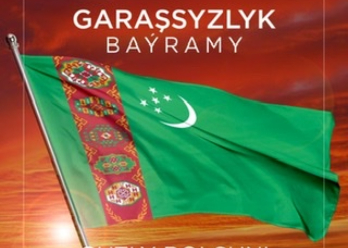 Congratulatory Message of the Secretary General of the Turkic Council on the occasion the Independence Day of Turkmenistan;
