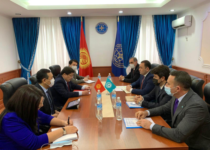 Turkic Council delegation had a meeting in the Foreign Ministry  of Kyrgyzstan