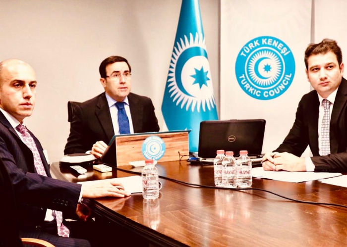 Turkic Council convened Video-Conference Meeting of the Sub- Working Group on Cyber Security