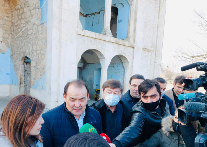 Turkic Council, TURKSOY and Turkic Culture and Heritage Foundation delegation visited the territories of Azerbaijan liberated from occupation