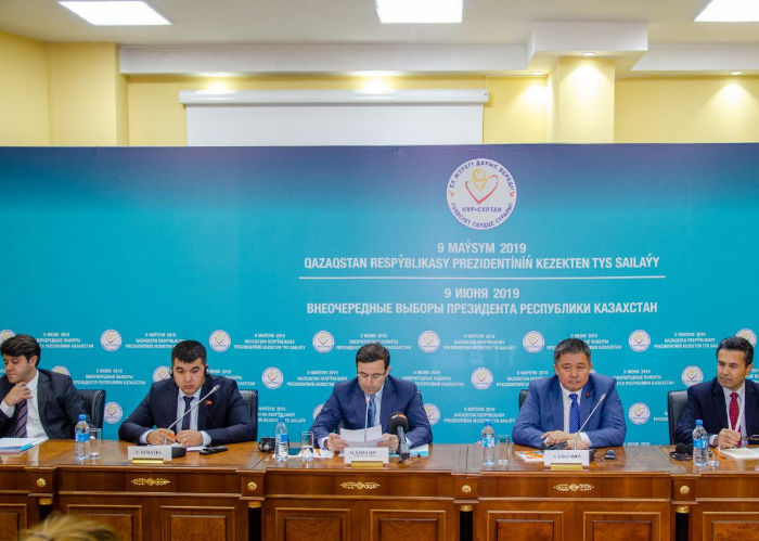 Turkic Council International Election Observation Mission presented its statement on the Early Presidential Election of the Republic of Kazakhstan at a Press Conference organized on 10 June 2019 in Nur-Sultan.