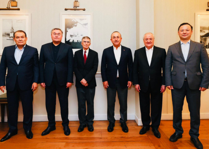 Turkic Council Member States' Foreign Ministers and the Secretary General came together at an informal dinner