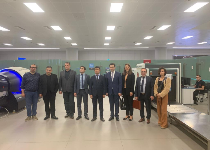 Turkic Council training program on the nationally produced screening devices (Terahertz) hosted by the Ministry of Trade of the Republic of Turkey was held at the Istanbul Airport.