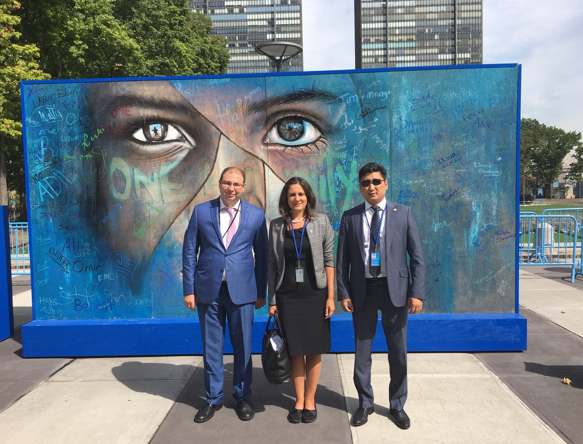 Ahmad Alhendawi project directors of the turkic council had a bilateral
