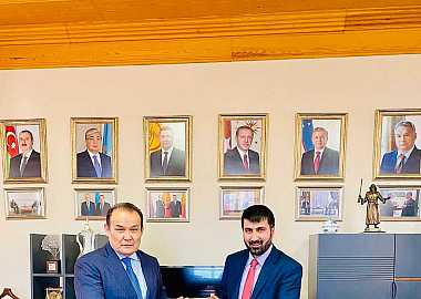 The Ambassador of Afghanistan paid a visit to the Turkic Council Secretary General