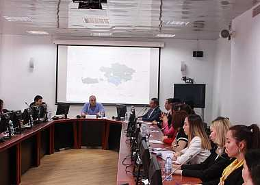 Deputy Minister of Foreign Affairs of the Republic of Azerbaijan, H.E. Mr. Araz Azimov gave a lecture to the participants of the Turkic Council's 6th Junior Diplomats Joint Training Program.