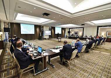 The First Coordination Committee Meeting of the Fourth World Nomad Games was held in İstanbul.
