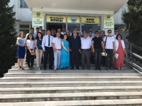 The participants of the Turkic Council Junior Diplomats 4th Training program visited Osh and Uzgen cities of Kyrgyzstan.