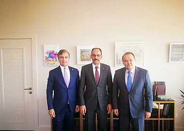 Secretary General met with the Spokesman of the Presidency of the Republic of Turkey