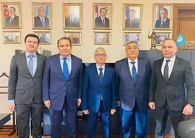 Secretary General received the delegations of the member states of the Turkic Council at the Headquarter of the Secretariat