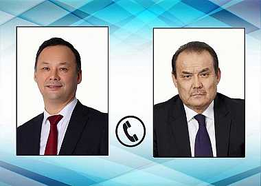 The Foreign Minister of the Kyrgyz Republic and the Secretary General of the Turkic Council had a telephone conversation.