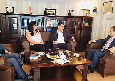 Minister of State in charge of Foreign Investments of North Macedonia visited the Turkic Council Secretariat in Istanbul