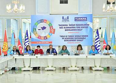 Project Director of the Turkic Council Zhyldyz Uzakova participated in the international conference entitled  the Role of women of Turkic world in achieving Sustainable Development Goals hosted by TURKPA