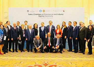 Turkic-speaking States established the Joint Chambers of Commerce and Industry at the signing ceremony organized by the Turkic Council Secretariat in Nur-Sultan as part of the Astana Economic Forum.