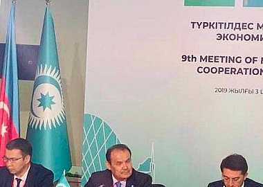 The 9th Turkic Council Meeting of Ministries in charge of Economy was held in Nur-Sultan.