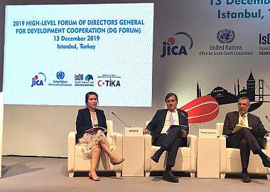 Deputy Secretary General of the Turkic Council participated as a panelist in High-level Forum of UNOSSC