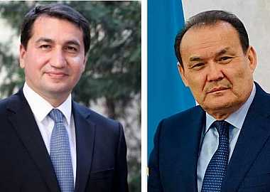 Secretary General of the Turkic Council met with the Assistant of the President of the Republic of Azerbaijan