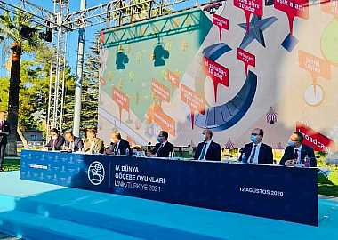 Secretary General of the Turkic Council attended the Press Launch of the 4th World Nomad Games