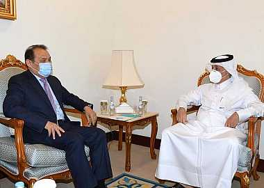 Secretary General of the Turkic Council Baghdad Amreyev paid a working visit to Doha